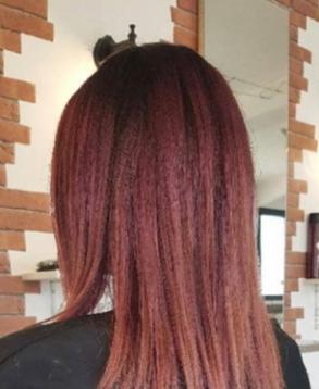 Changement couleur capillaire